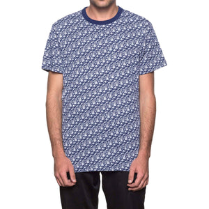 HUF Don't Trip Short Sleeve Knit Twilight Blue
