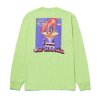 Load image into Gallery viewer, HUF Drinking With The Devil Long Sleeve Tee Lime