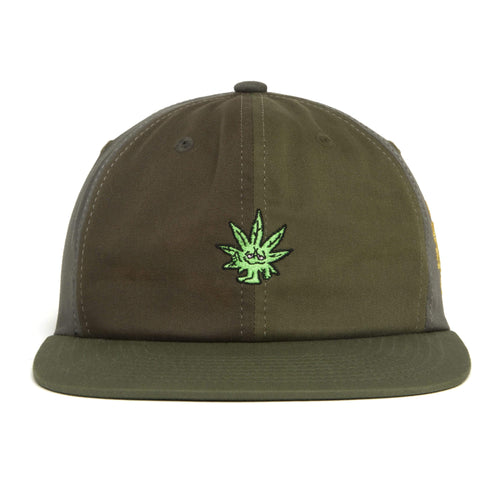 Huf Easy Green Contrast 6-Panel Hat