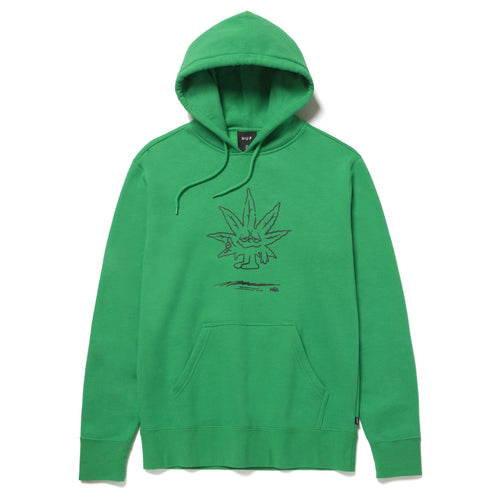 Huf Easy Green Pullover Hoodie