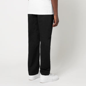 HUF Easy Work Pant Mens Trouser Black