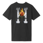 Load image into Gallery viewer, HUF Ember Rose T Shirt Mens Tee Black