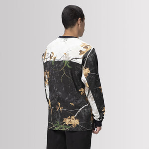 HUF Endo Long Sleeve Jersey Realtree Black