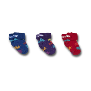 HUF Plantlife Baby Seed Socks Grape