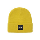 Load image into Gallery viewer, HUF Box Logo Beanie Golden Spice