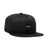 HUF Essentials Box Snapback Hat Mens Cap Black