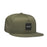 HUF Essentials Box Snapback Hat Mens Cap Martini Olive