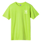 Load image into Gallery viewer, HUF Essentials Classic H T-Shirt Mens Printed Tee Hot Lime