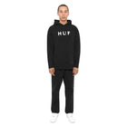 Load image into Gallery viewer, HUF Essentials Og Logo Pullover Hoodie Mens Hoodie Black