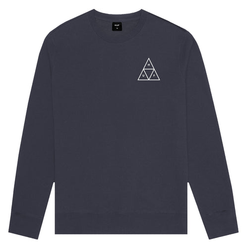 HUF Triple Triangle Crew French Navy