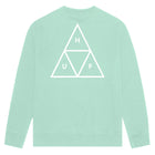 Load image into Gallery viewer, HUF Essentials Triple Triangle Crew Mint