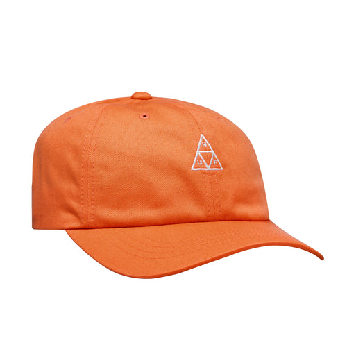 HUF Essentials Triple Triangle Curved Visor Cap Mens Cap Persimmon