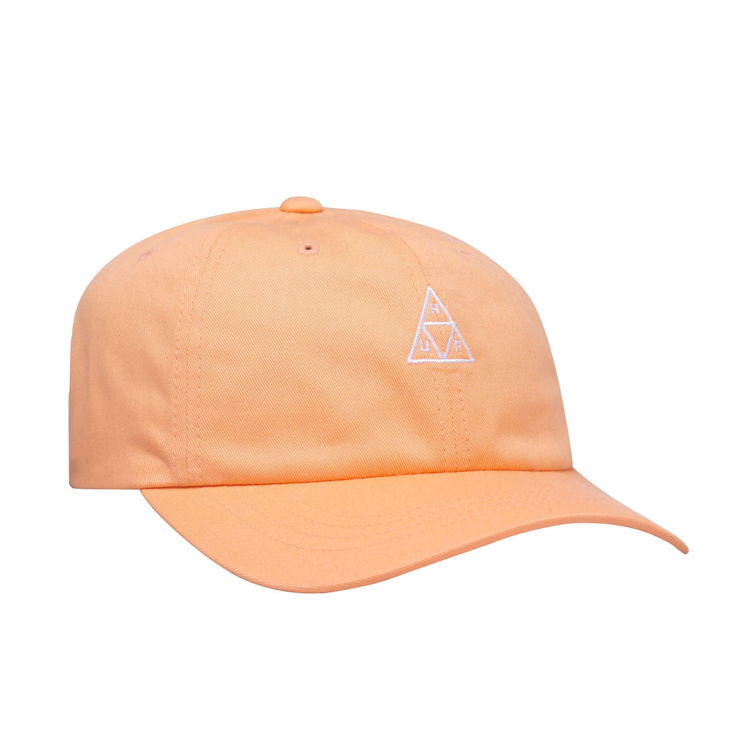 HUF Triple Triangle Curved Visor 6 Panel Hat Canyon Sunset