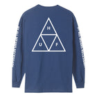 Load image into Gallery viewer, HUF Essentials Triple Triangle Long Sleeve T Shirt Mens Ls Tee Insignia Blue