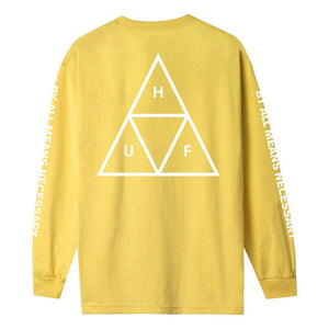 HUF Triple Triangle Long Sleeve T-Shirt Sauterne