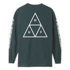 Load image into Gallery viewer, HUF Essentials Triple Triangle Long Sleeve T-Shirt Mens LS Tee Sycamore