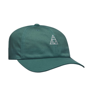 HUF Essentials Triple Triangle Curved Visor Hat Mens Cap Quetzal Green