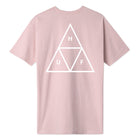 Load image into Gallery viewer, HUF Essentials Triple Triangle T-Shirt Mens Printed Tee Coral Pink