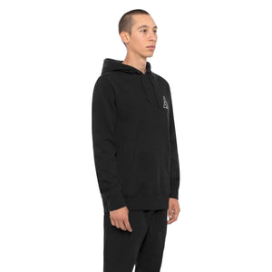 HUF Essentials Triple Triangle Pullover Hoodie Mens Hoodie Black