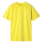 Load image into Gallery viewer, HUF Essentials Triple Triangle T Shirt Mens Tee Blazing Yellow