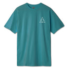 Load image into Gallery viewer, HUF Essentials Triple Triangle T Shirt Mens Tee Quetzal Green