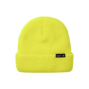 HUF Usual Beanie Mens Beanie Hot Lime
