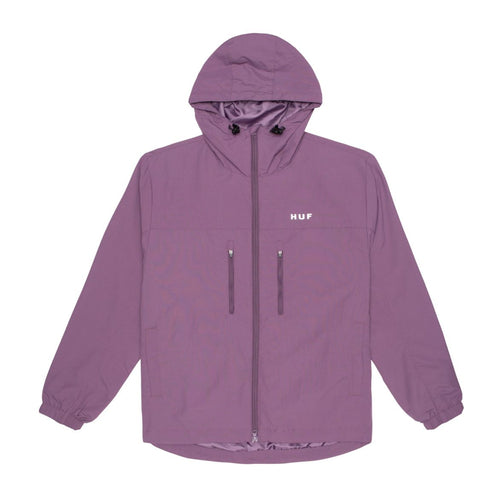 HUF Essentials Zip Standard Shell Jacket Vintage Violet