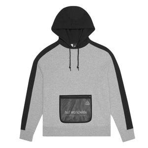 HUF Expo Pullover Hoodie Mens Hoodie GREY HEATHER