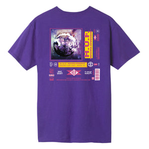 HUF Fidelity T-Shirt Grape