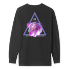 Load image into Gallery viewer, HUF Forbidden Domain Long Sleeve T-Shirt Black