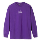 Load image into Gallery viewer, HUF Forbidden Domain Long Sleeve T-Shirt Grape