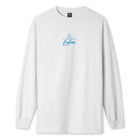 Load image into Gallery viewer, HUF Forbidden Domain Long Sleeve T-Shirt White