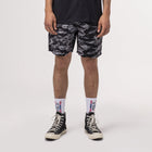Load image into Gallery viewer, HUF Fuck It Tiger Camo Easy Short Black