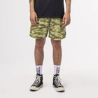 Load image into Gallery viewer, HUF Fuck It Tiger Camo Easy Short Dusty Olive