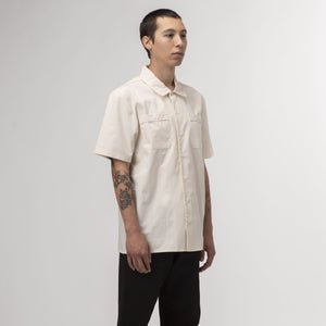 HUF Gas Station Shirt Off White