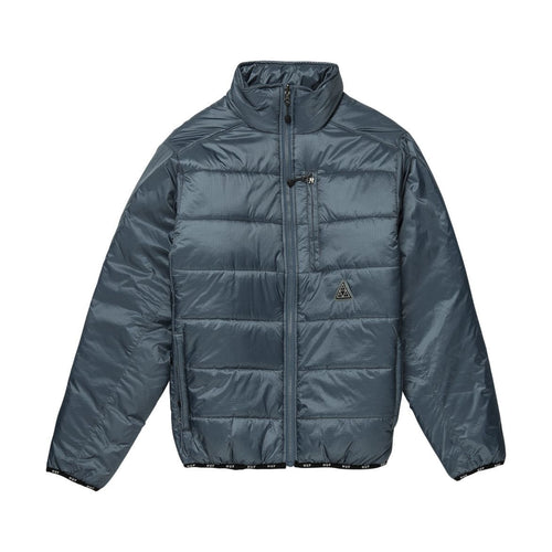 HUF Geode Puffy Jacket Blue Mirage