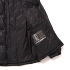 Load image into Gallery viewer, HUF Glacier Puffer Jacket Black