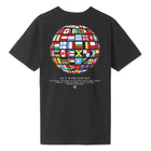 Load image into Gallery viewer, HUF Global Wave T-Shirt Black