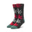 HUF GLOW FLAKE PLANTLIFE SOCK MENS SOCK BLACK