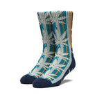 Load image into Gallery viewer, Huf Golden Plantlife Sock French Navy