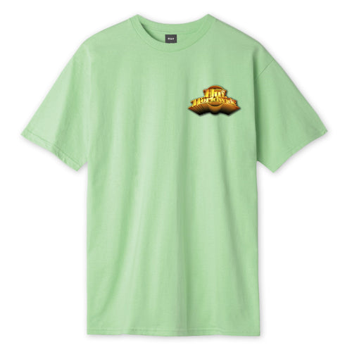 HUF Greatest Hits T-Shirt Mens Printed Tee Mint