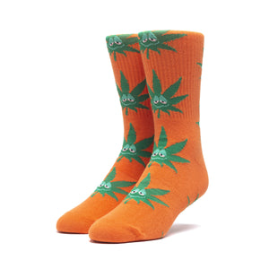 HUF Green Buddy Sock Mens Sock Russet Orange