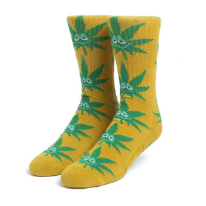 HUF Green Buddy Sock Warm Beige