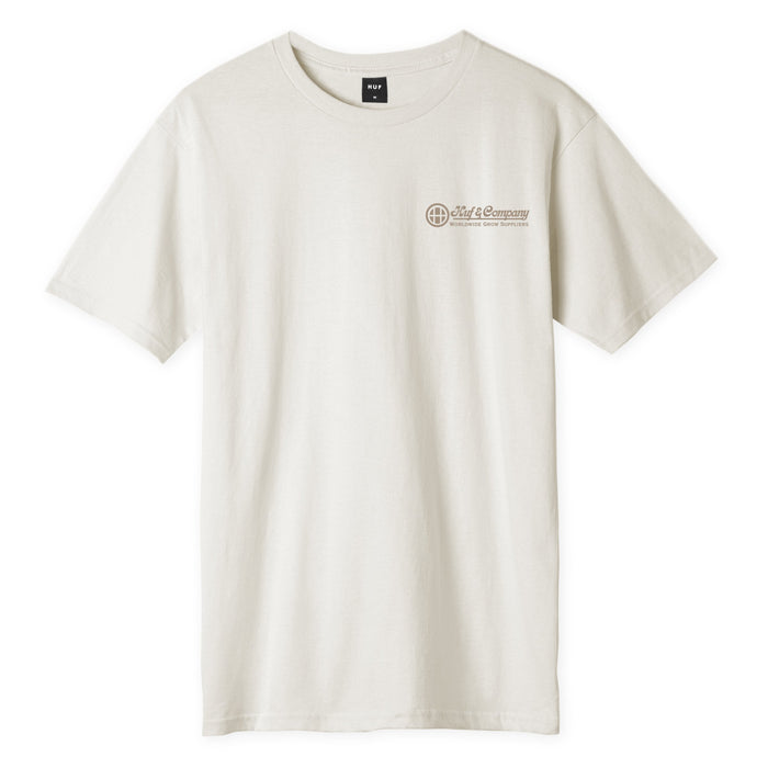 HUF GREEN THUMB S/S T-SHIRT NATURAL