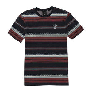 HUF Hana Striped Knit Top Dark Navy