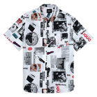 Load image into Gallery viewer, HUF Headlines Short Sleeve Woven Shirt White