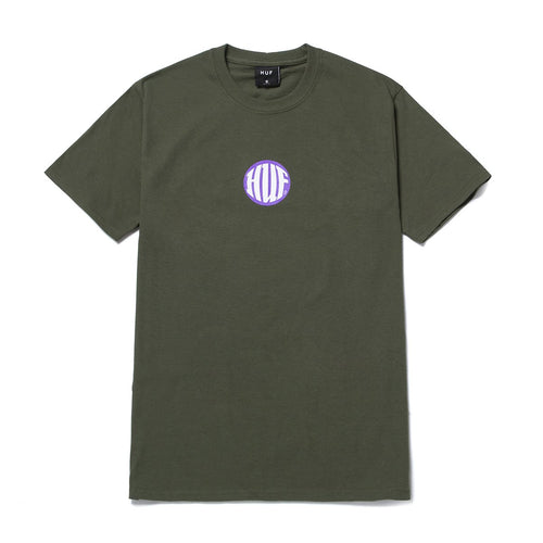 HUF Hi Def T-Shirt Military Green