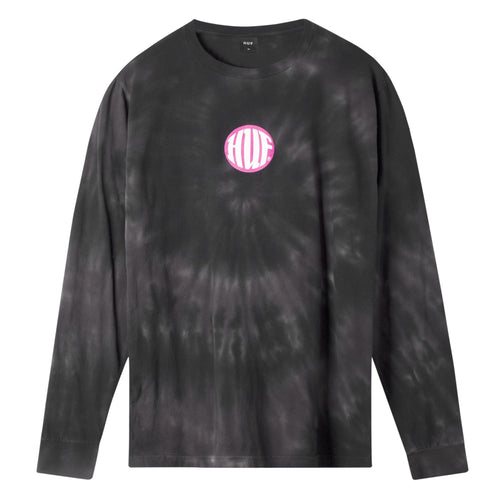 HUF High Definition Long Sleeve T-Shirt Mens LS Tee Black