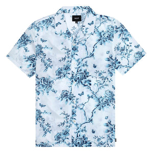 HUF Highline Short Sleeve Woven Shirt White