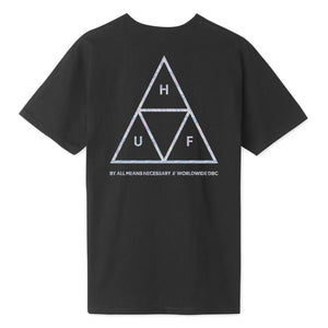 HUF Hologram T-Shirt Black